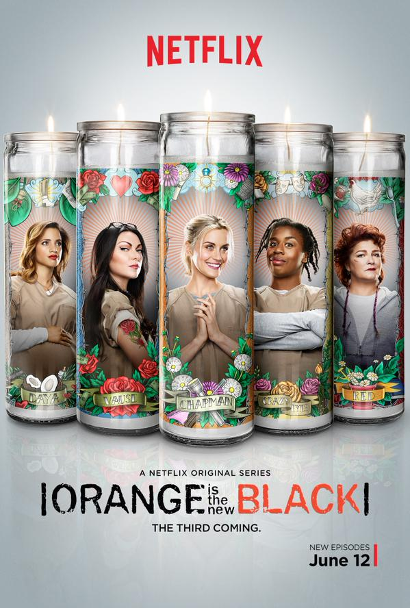 orange is the new black season three promo poster