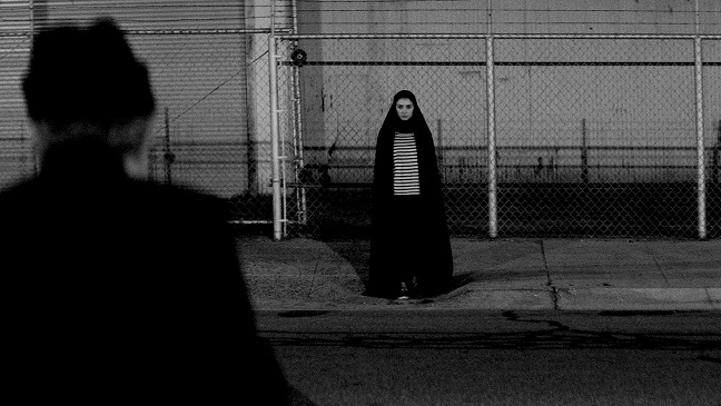 watch a girl walks home alone at night online