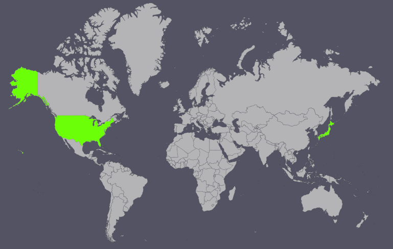 countries where hulu is available