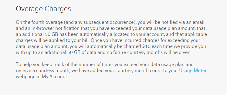 overage charges comcast