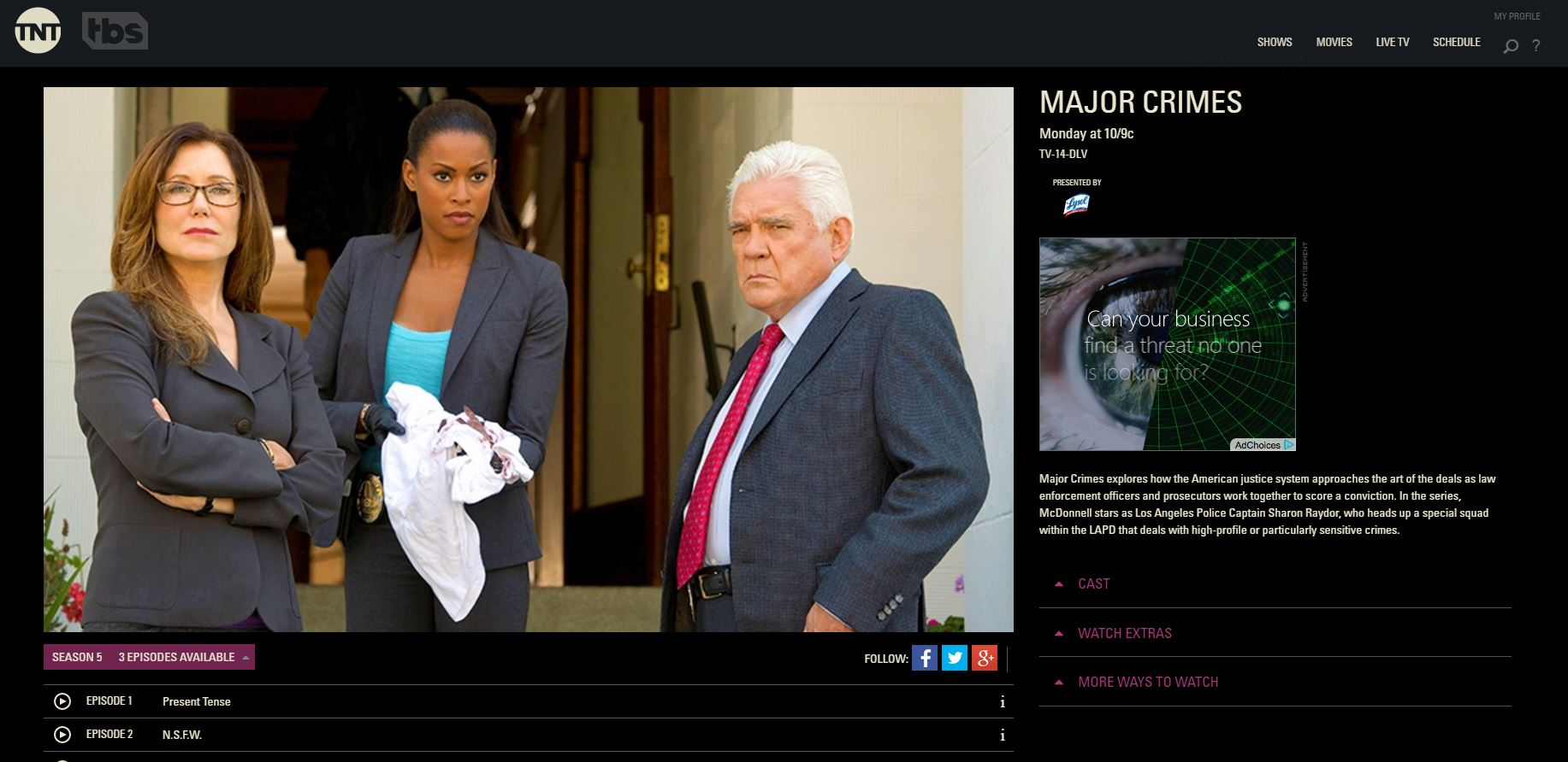 watch-major-crimes-online