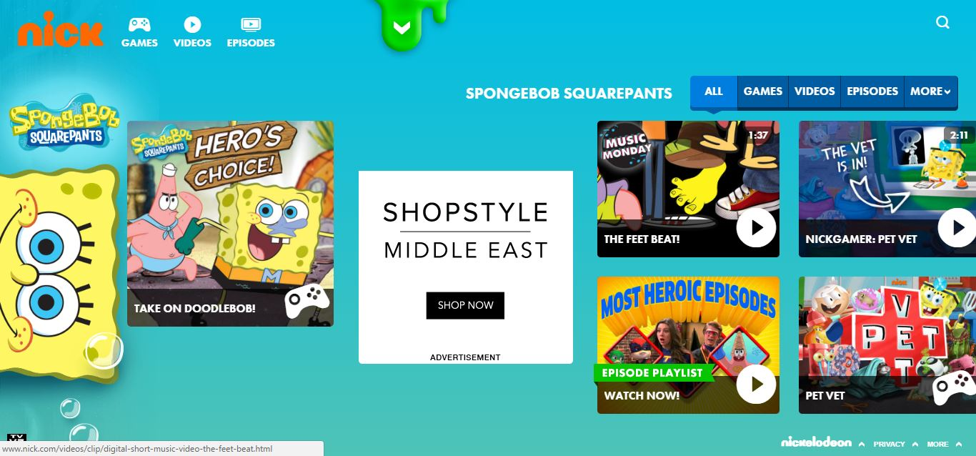 streaming-spongebob-squarepants