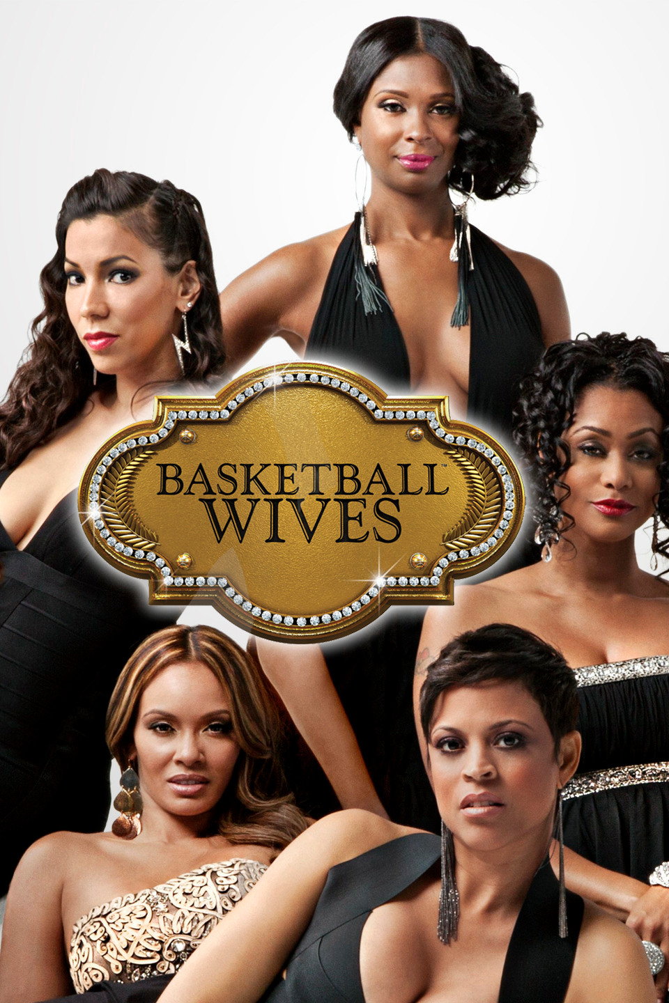 Royce Reed, Suzie Kethcam, Jennifer WIlliams, Kesha Nichols and Kenya Bell (top row, from left); Evelyn Lozada, Shaunie O'Neal and Tami Roman (bottom row, from left)