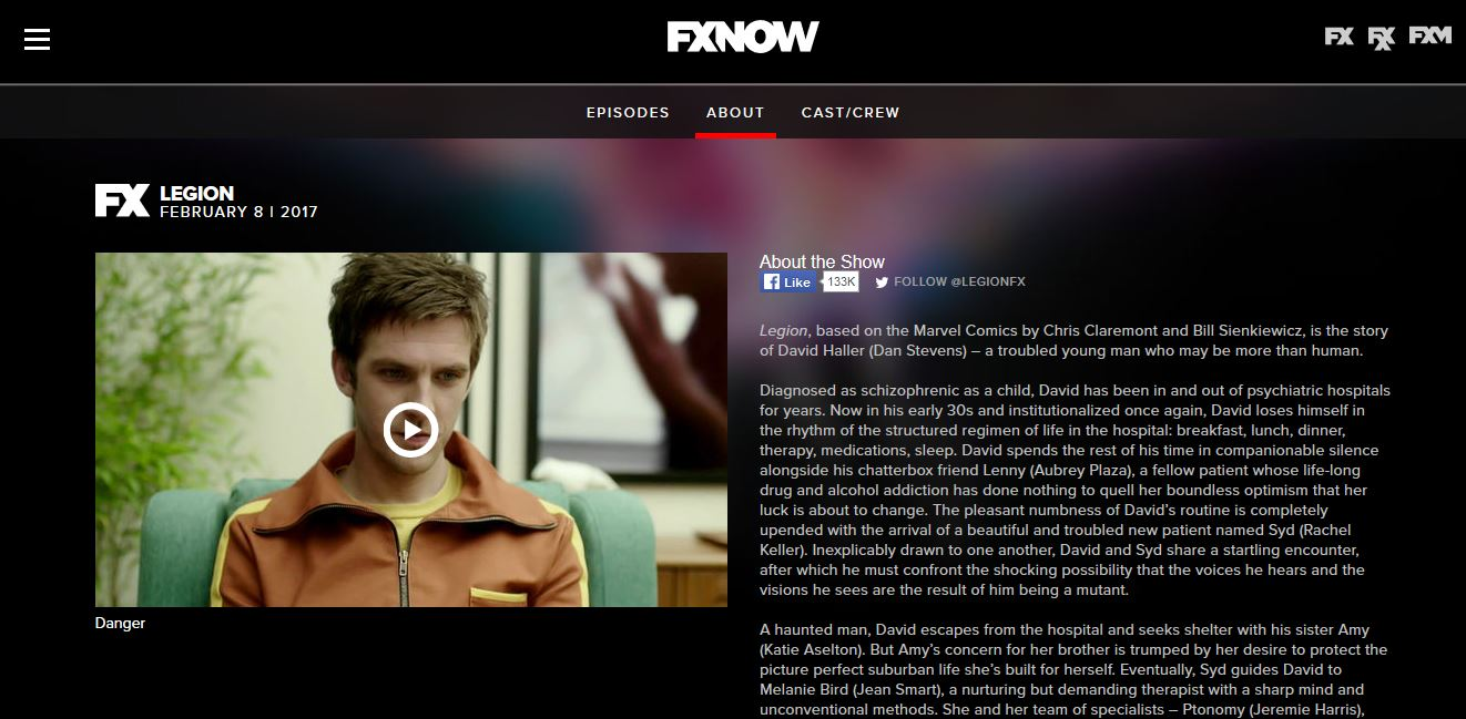 Watch Legion Online Using The Official Fx