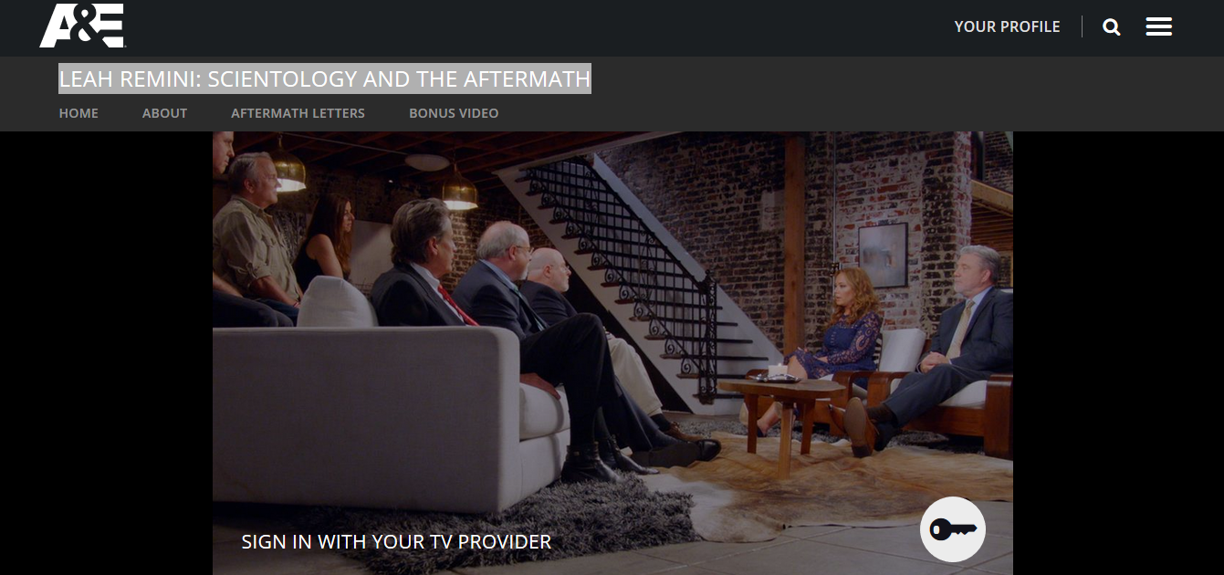 Aftermath Streaming streaming leah remini: scientology and the aftermath online